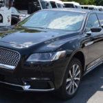image of exterior black limousine