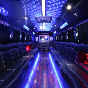 interior image of party bus